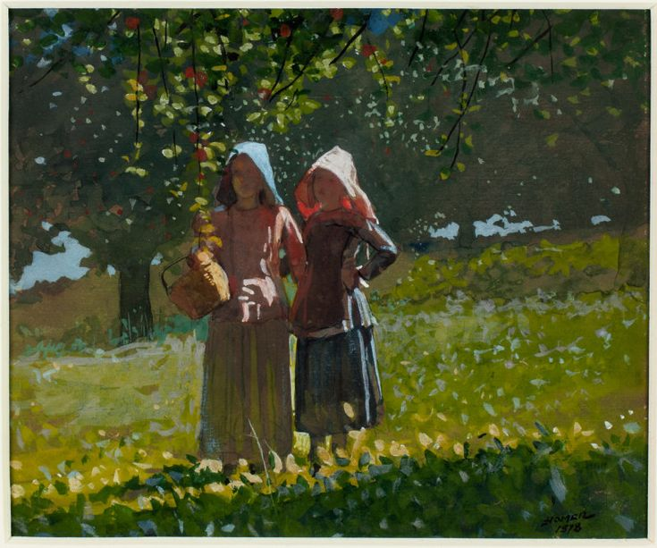 Apple Picking | The Art Institute of Chicago