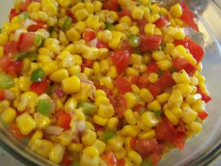 Over the Backyard Fence: Mexican Corn Salad