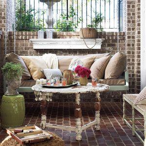 Georgia Brick Porch