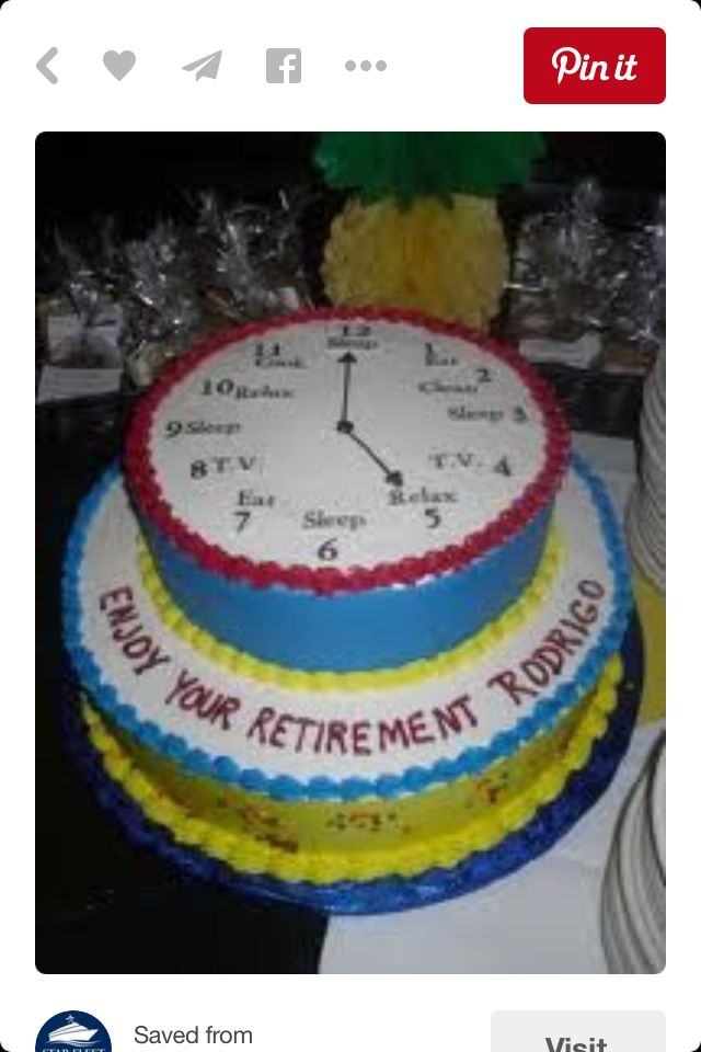 Retirement Dinner Party Ideas Part - 43: Retirement Party Ideas. See More. Cake
