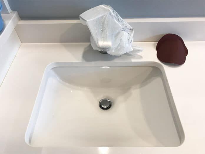 How To Fix A Cracked Bathroom Sink Hunker Porcelain Sink Ceramic Sink Sink Repair