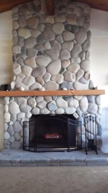 Best 25+ River rock fireplaces ideas on Pinterest | Rock ...