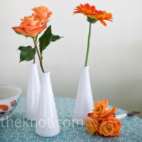 17 Best Ideas About Orange Centerpieces On Pinterest