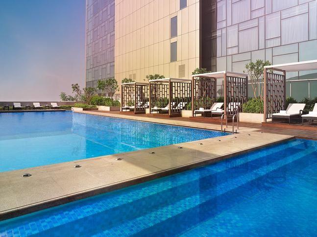 A splash of fun at Vivanta by Taj – Gurgaon #Celsius #Pool #Gurgaon #hotel http://www.vivantabytaj.com/gurgaon
