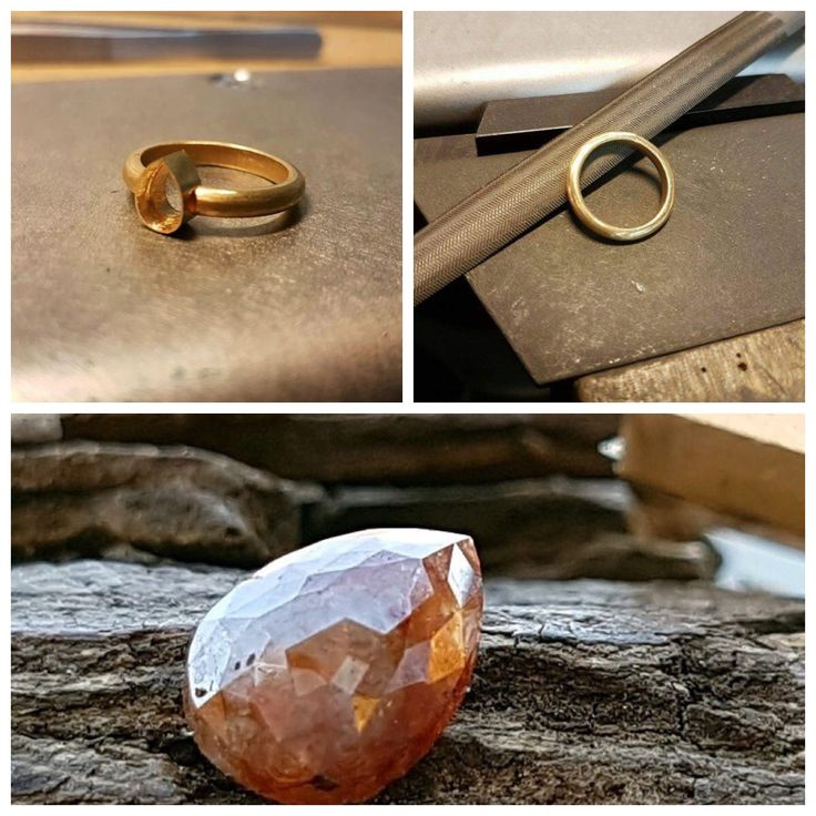 My ring in the making.