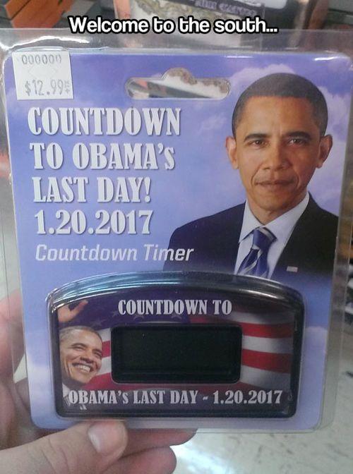 Obama's last day