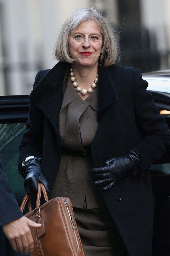 Theresa May's Desert Island Vogue