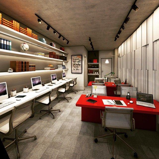 Escritório de Advocacia por Camila Klein Arquitetura e Interiores. #design #interior #office