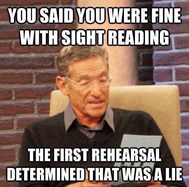 Sight reading | Teacher Life | Funny, Retail humor, Work humor
