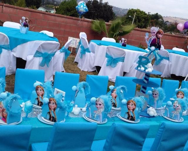 11 Beautiful Frozen Party Decorations Ideas