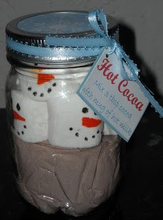 Christy: Hot Chocolate Mix, and Make Your Own Mugs