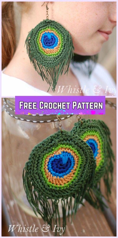 Best 25 Crochet Earrings Pattern Ideas On Pinterest
