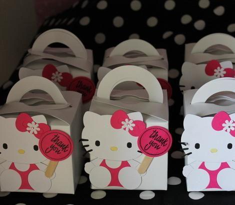 Bolsitas de regalo de Hello Kitty