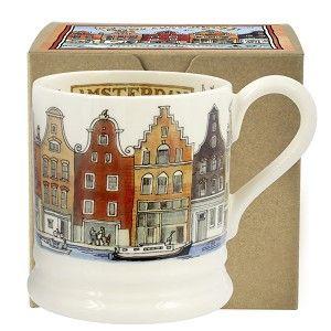 ½ pt Mug Amsterdam - City of Dreams - Pine-apple - Importeur Emma Brid
