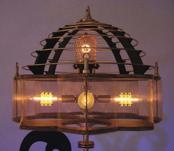 I Just Love The Way Steampunk Creations Always Keep Surprising Me With  Their Innovative Thought. The New Steampunk Lamp Design By New York Based  Lighting ...