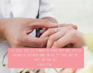 Wunderschöne Trausprüche für deine Hochzeit