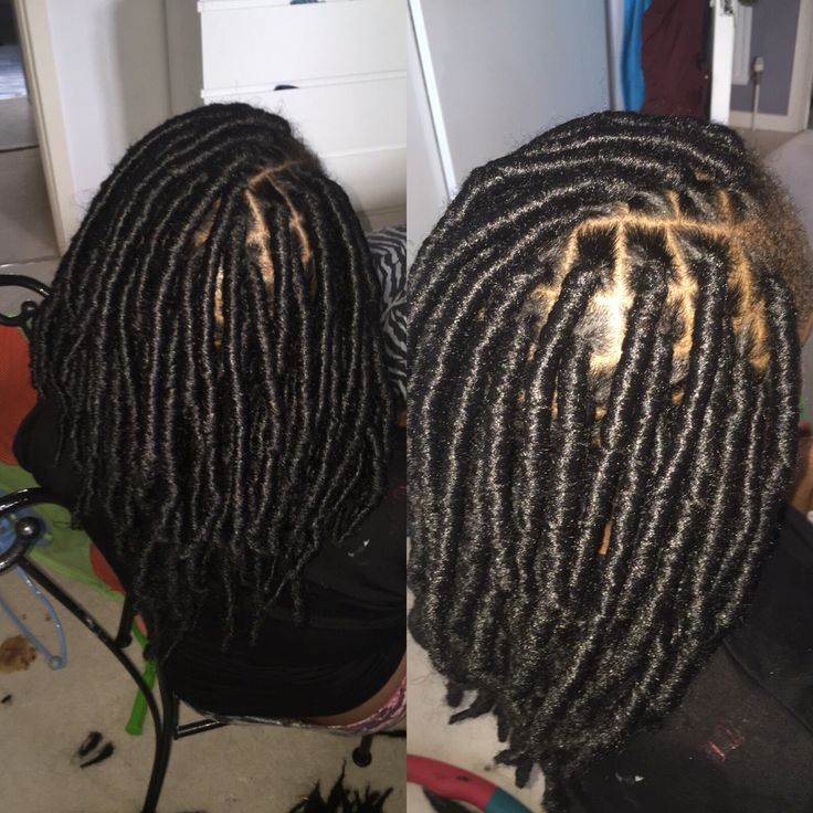 Marley Hair Used To Creat Faux Locs This Was A First