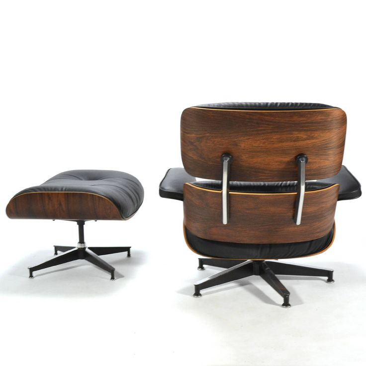 Rosewood Eames Lounge Chair and Ottoman by Herman Miller | From a unique collection of antique and modern lounge chairs at https://www.1stdibs.com/furniture/seating/lounge-chairs/