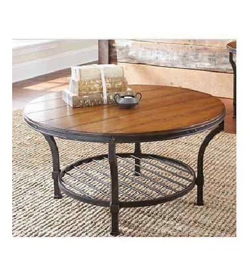 Table Round Industrial Coffee Table Gratifying Ballard: 1000+ Ideas About Industrial Coffee Tables On Pinterest