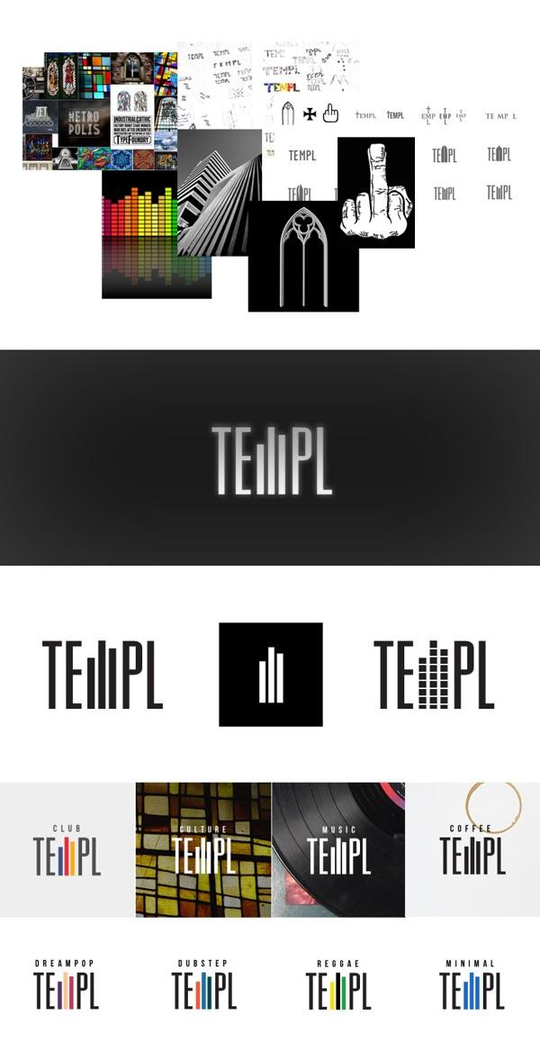 Templ culture club & cafe logotype