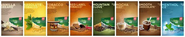 Green Smoke flavors
