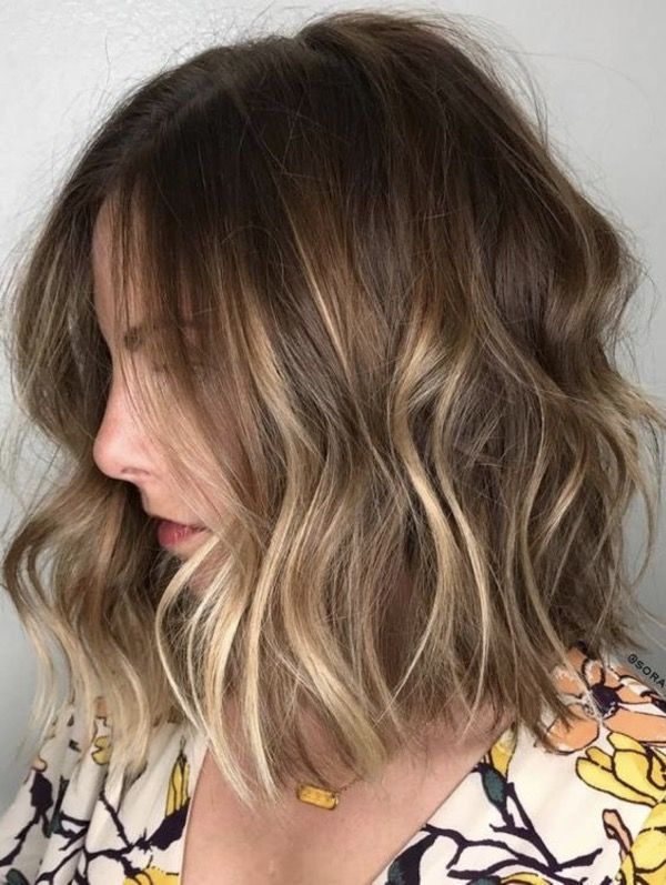 Medium Balayage Ombre Bob Haircuts and Hairstyles 2019 – Page 38 – BeautyCuco Blog