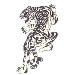 artistmikemiller tribal tiger tattoo designs