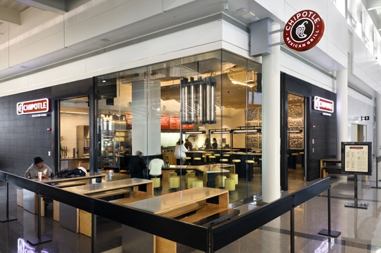 If you are ever in Concourse B at Dulles Airport in Washington DC, you'll have to check out our airport location.