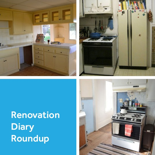 Renovation Diary: Our First Three Projects ... apartmenttherapy