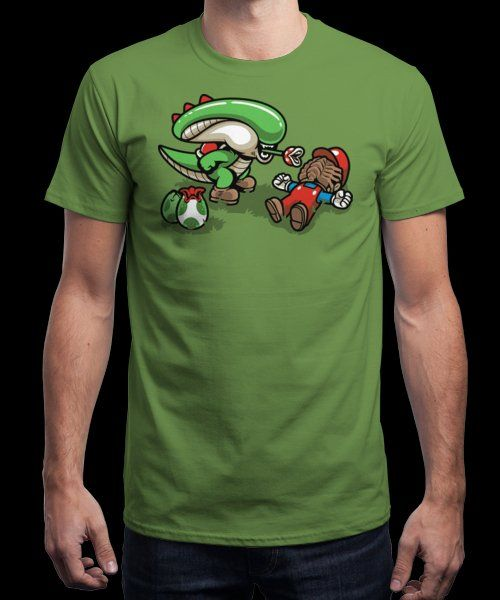 """Xenoyoshi"" is today's £9/€11/$12 tee for 24 hours only on www.Qwertee.com Pin this for a chance to win a FREE TEE this weekend. Follow us on pinterest.com/qwertee for a second! Thanks:)"