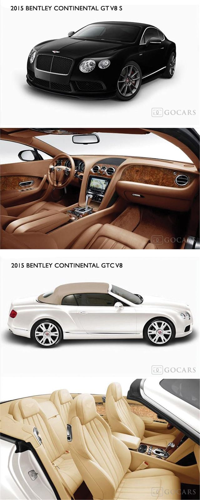 Why, WHY was I born with Champagne taste and a Beer pocketbook?  And, I don't even like beer!  2015 Bentley Continental GT V8 S and 2015 Bentley Continental GTC V8.