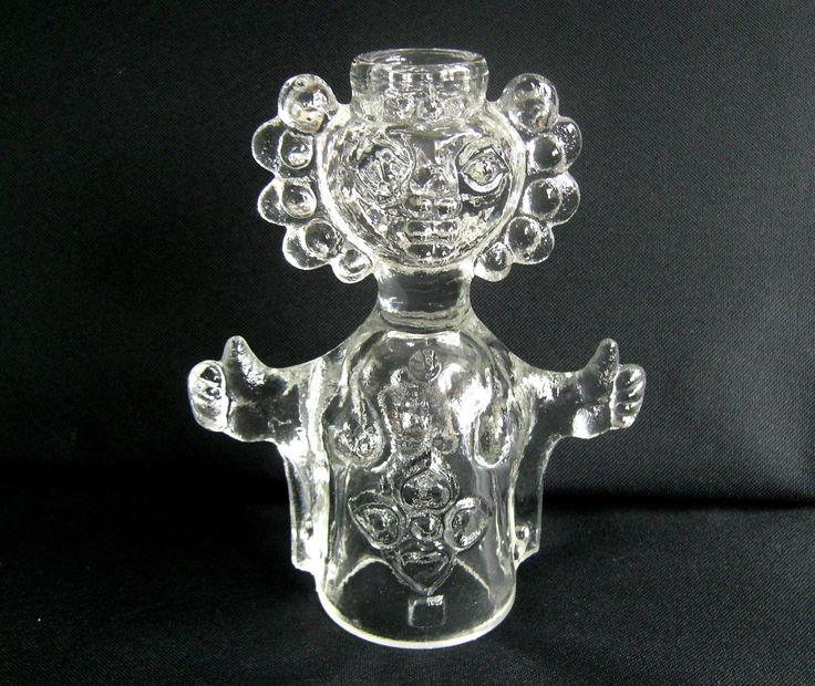 Large Sklo Union Candleholder Adolf Matura Rosice Glassworks | eBay