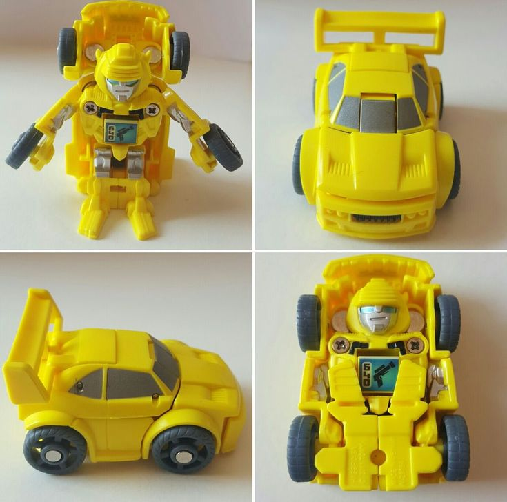 TRANSFORMERS Hasbro TOMY Mini BumbleBee Autobot Transformer 2'' in Toys & Games, Action Figures, TV, Movies & Video Games | eBay!