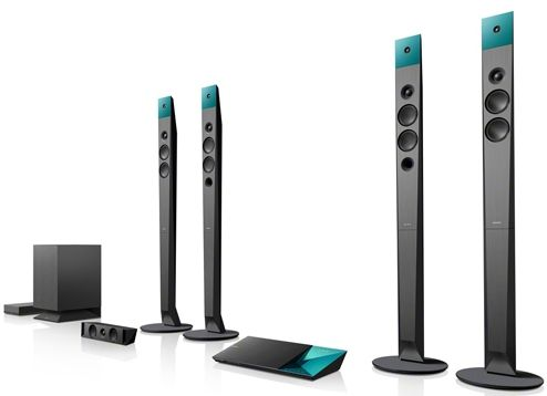 BDV-N9100W : Blu-ray Home Theatre Systems : Home Theatre System : Sony India