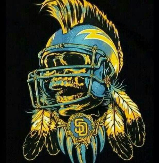 San Diego Chargers Art: 163 Best Football Images On Pinterest