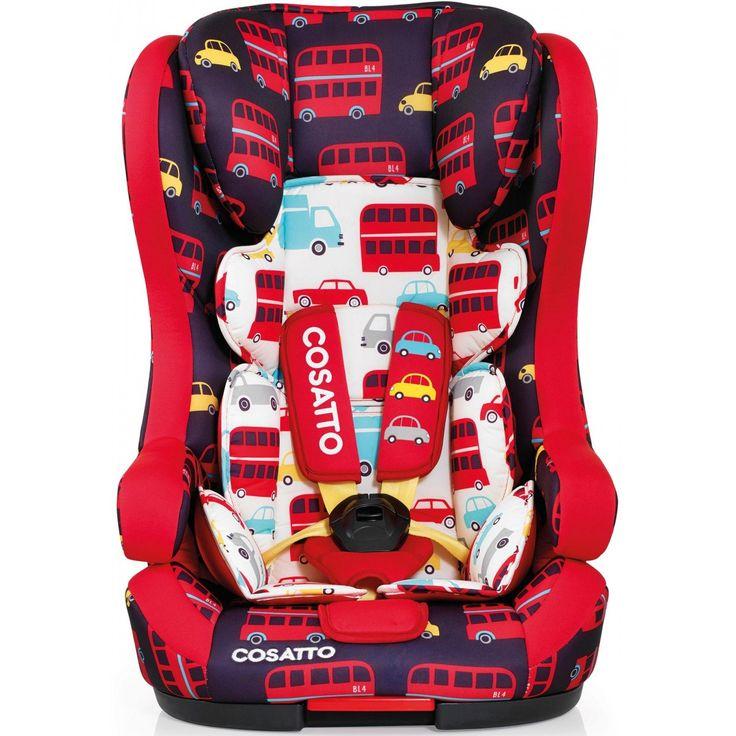 Cosatto Hubbub Group 123 Isofix Car Seat - Hustle Bustle
