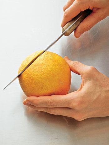 Obst: Orangen filetieren - so geht's - BRIGITTE