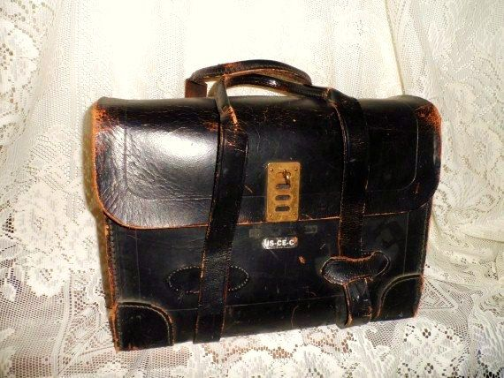 Black Leather Luggage   Luggage And Suitcases