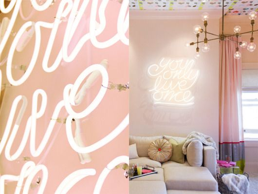 A New Take on Neon Signs