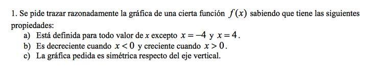 Ejercicio 1A 2002-2003 Junio. Propuesto en examen pau de Canarias. Matemática. Continuidad, derivabilidad y representación de funciones. Límites.