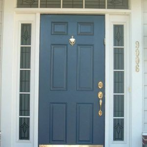 Exterior Doors With Glass Side Panels