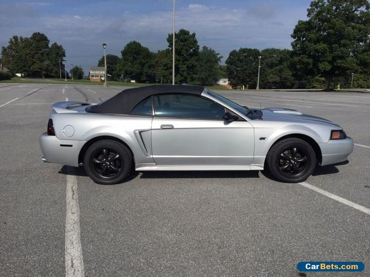 2000 ford mustang gt convertible 2 door ford mustang. Black Bedroom Furniture Sets. Home Design Ideas