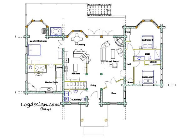 39 best floor plans images on pinterest architecture for Southfork ranch floor plan