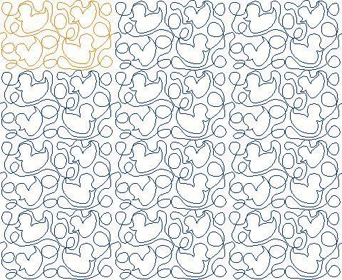 17 Best Images About Continuous Line Quilt Patterns On