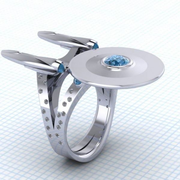 Paul Michael Design Enterprise ring, I would so wear this!