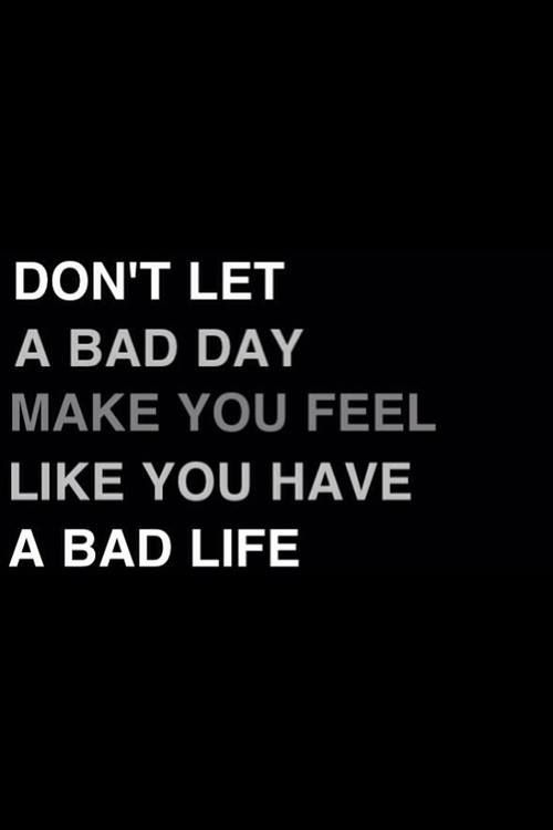 Image result for When a Bad Day Becomes a Bad Year