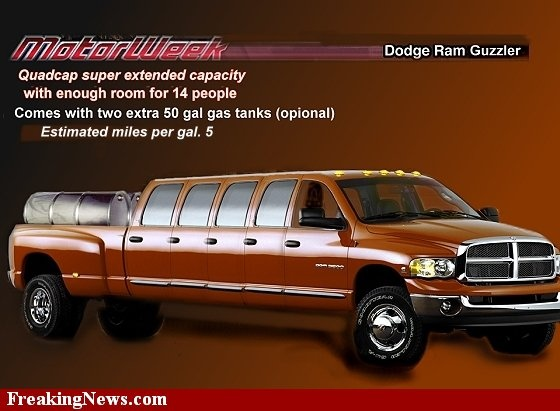 Introducing The Dodge Ram Guzzler In Our Best Price Is