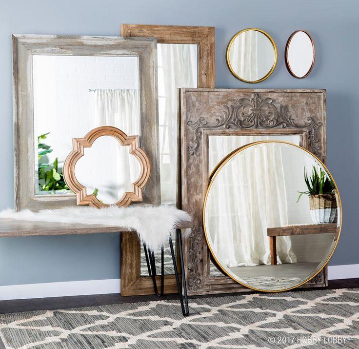 45 inovative ideas of mirrors and wall art - Mirror Tile Castle Ideas