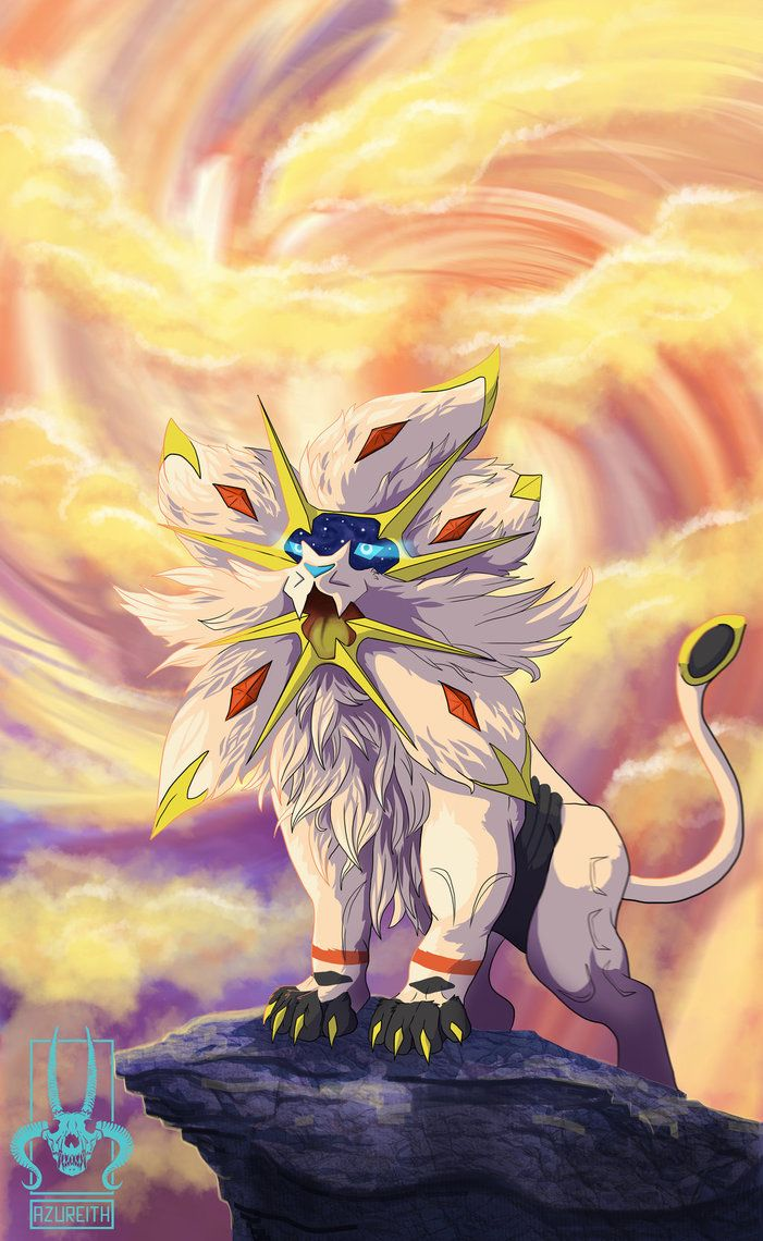 SOLGALEO by Azureith.deviantart.com on @DeviantArt