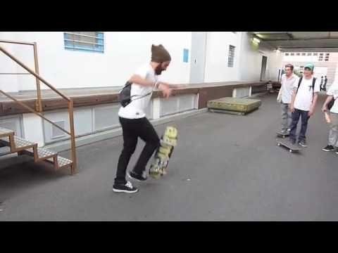 Chris Haslam crazy trick